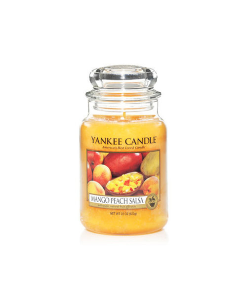 Yankee Candle ароматна свещ MANGO PEACH SALSA
